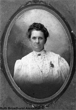 Ruth M. <i>Broadhurst</i> Alexander