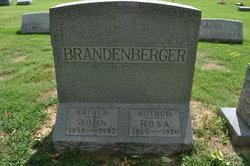 Rosalia Elisabeth <i>Miller</i> Brandenberger