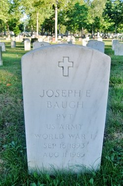 Pvt Joseph Enoch Baugh