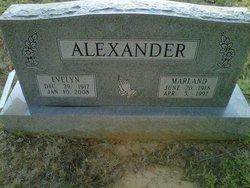 Evelyn Alexander