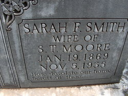 Sara Frances <i>Smith</i> Moore