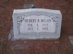 Hubert B McLain