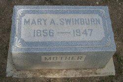 Mary Ann <i>Boone</i> Swinburn