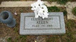 Elizabeth <i>Wright</i> Allen