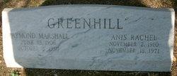 Anis Rachel <i>Malone</i> Greenhill