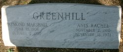 Raymond Marshall Greenhill