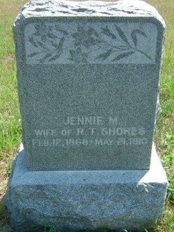 Jennie May <i>Crabb</i> Shores