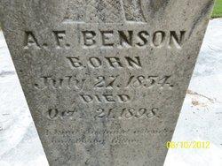 A F Benson