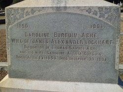 Caroline Burguin <i>Ashe</i> Lockhart