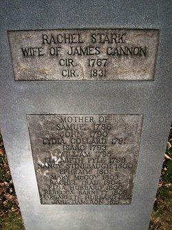 Rachel <i>Stark</i> Cannon