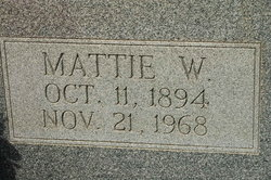 Martha J Mattie <i>Willingham</i> Eidson