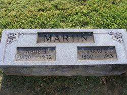 Sarah Elizabeth <i>Hughes</i> Martin