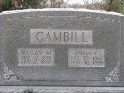 Emma Caroline <i>Jewell</i> Gambill