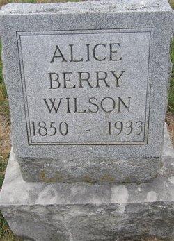 Elvira Alice Alice <i>Defoe</i> Berry-Wilson