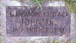 Bernhardine Lillegard Johnson