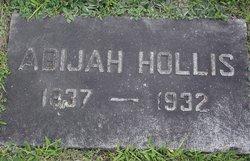 Abijah Hollis