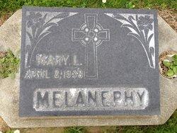 Mary <i>Lynaugh</i> Melanephy