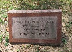 Annette Carl Markovsky
