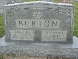 Annie Marie <i>Leary</i> Burton