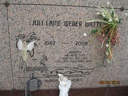Juli Laine <i>Weber</i> Watts