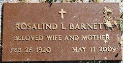 Rosalind <i>Kuebler</i> Barnett