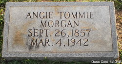 Angie <i>Tommie</i> Morgan