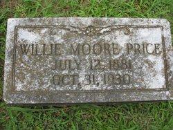 Willie <i>Moore</i> Price