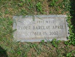 Ryder Lee <i>Barclay</i> April