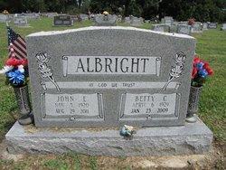Betty C Albright