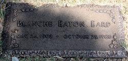 Blanche <i>Eaton</i> Earp