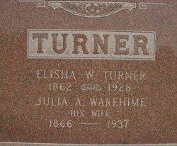 Julia Ann <i>Warehime</i> Turner