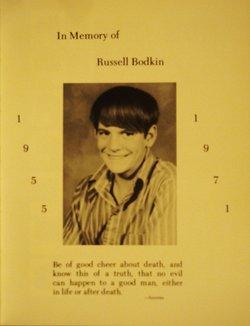 Russell Don Rusty Bodkin