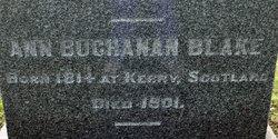 Ann <i>Buchanan</i> Blake