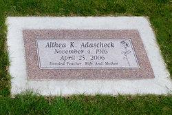Aletha <i>Kirst</i> Adascheck