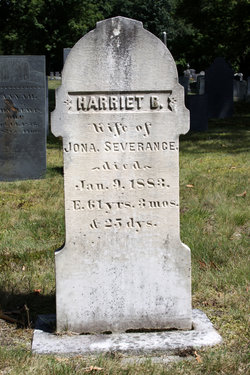 Harriet B. <i>Copps</i> Severance