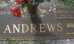 Martha Lee <i>Wingate</i> Andrews