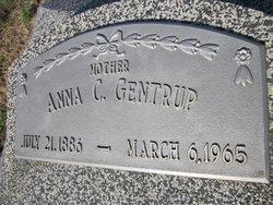 Anna C <i>Schlecht</i> Gentrup