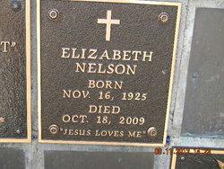 Elizabeth Flora Betty Nelson