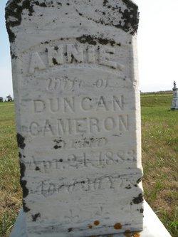 Annie Cameron