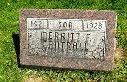 Merritt F Cantrall
