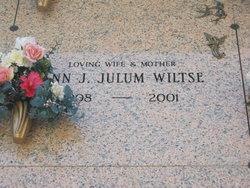 Ann J <i>Julum</i> Wiltse