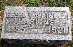 Bessie Carol <i>McKinley</i> Haskins