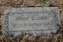 Minnie D. Loder