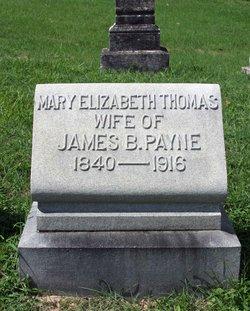 Mary Elizabeth <i>Thomas</i> Payne