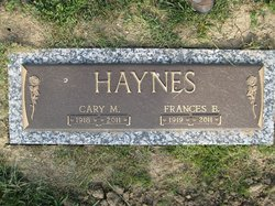Frances <i>Blaine</i> Haynes
