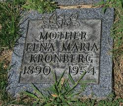 Elna Marie <i>Liljequist</i> Kronberg