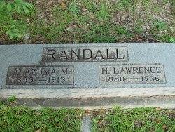 Alazuma M. Randall