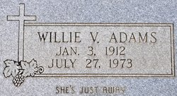 Willie <i>Veuleman</i> Adams