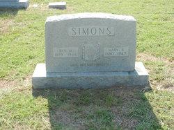 Mary Elizabeth <i>Shepherd</i> Simons
