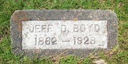 Jefferson Davis Jeff Boyd